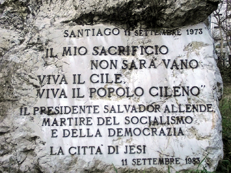 Largo Allende, Jesi